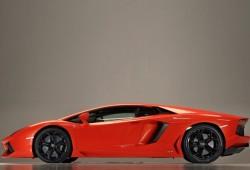 Lamborghini Aventador. Esta vez de perfil