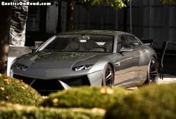 Lamborghini Estoque Concept avistado en Alemania.