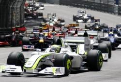 Largada del GP de Mónaco 2009