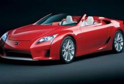 Lexus podría fabricar una versión roadster del LF-A.