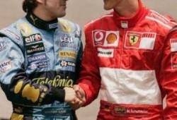 Lo más visto en Motor.es, Paralelismos entre Alonso y Schumacher. Noviembre 2010