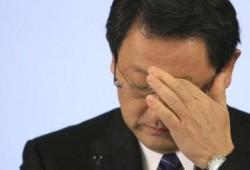Los ejecutivos de Toyota no lloran señor Toyoda