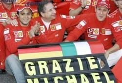 Massa admite que su maestro fue Schumacher