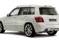 Mercedes Benz GLK con kit Lorinser Aero