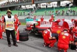Motores Ferrari: problema aparentemente localizado