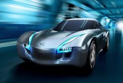 Nissan presenta el Esflow, una coupé deportiva electrica sobre la base del Leaf