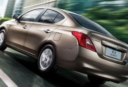 Nissan presentó en China al nuevo Sunny, que podría venderse como Tiida sedán
