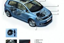 Nueva versión del Volkswagen Golf BiFuel,
