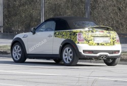 Nuevas fotos espías del Mini Roadster