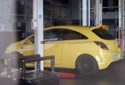 Nuevas imágenes del Corsa OPC Nürburgring Edition.