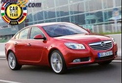 Opel recibió el trofeo Car of the Year