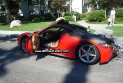Otra Ferrari 458 Italia que termina mal.