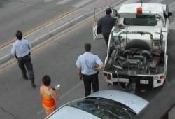 Pamplona avisa con un SMS de que la grúa se lleva el coche