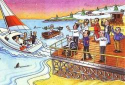 Peculiar felicitación navideña de Bernie Ecclestone