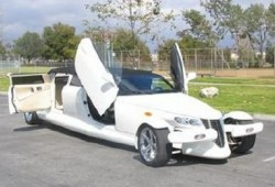 Plymouth Prowler hecho limusina