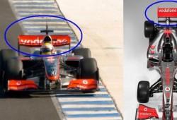 ¿Por qué McLaren-Mercedes utilizó el alerón 2008 en el MP4-24?