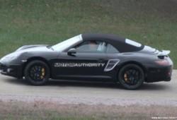 Porsche 911 2012 espiado con menos camuflaje