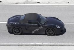 Porsche Boxster nueva generación, imágenes espía