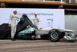 Presentación del Mercedes MGP W02