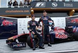 Presentación del Toro Rosso STR6