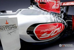 Presentación Hispania HRT F111