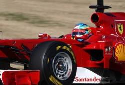 Pretemporada: Primeros tests en Valencia. Ferrari F150
