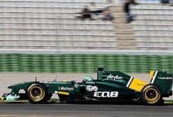 Pretemporada: Primeros tests en Valencia. Lotus (T128)