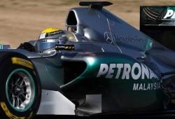Pretemporada: Primeros tests en Valencia: Mercedes GP W02