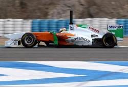 Pretemporada, segundos tests Jerez: Force India