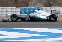 Pretemporada, segundos tests Jerez: Mercedes