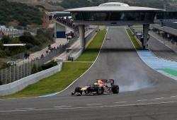 Pretemporada, segundos tests Jerez: Red Bull