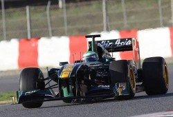 Pretemporada, terceros tests Montmeló: Lotus