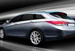 Primera imagen real del nuevo Hyundai i40