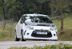 Primeras fotos del Citroën DS3 de Rally.