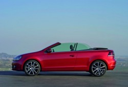 Primeras imágenes oficiales del Volkswagen Golf Cabrio