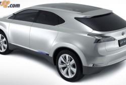 Prototipo Hibrido de Lexus, el SUV LF-Xh