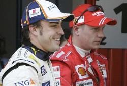 Raikkonen a McLaren y vía libre para Alonso en Ferrari