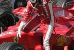 Raikkonen ya esta probando la nueva Ferrari