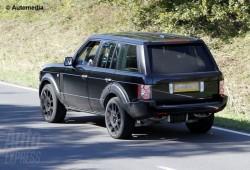 Range Rover 2012, fotos espía