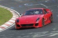 Record del Ferrari 599XX en Nürburgring.