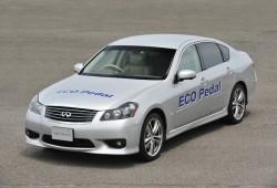 Reduce tus consumos y emisiones con el ECO-Pedal de Nissan.