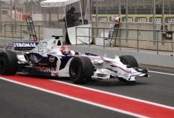 Sauber y Pedro de la Rosa en Spa