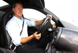 Schumacher prueba la Ferrari 599 GTB HGTE.