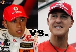 Schumacher reconoce las virtudes de Hamilton