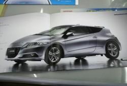 Se filtran las fotos del Honda CR-Z de producción.