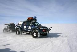 Toyota Hilux triunfa en el Polo Sur