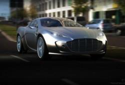 Ugur Sahin presenta el Aston Martin Gauntlet Concept.