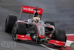Un McLaren Formula 1armado por  Button y Lewis