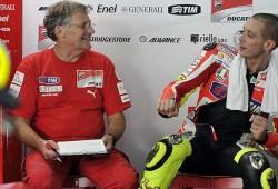 Valentino, enfermo, no toma parte del segundo día de tests