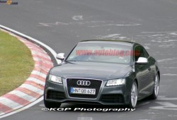 Video y fotos espias del Audi RS5 en Nurburgring